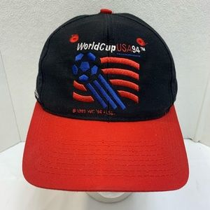 Vintage Apex One World Cup USA 94 Snapback Hat Cap